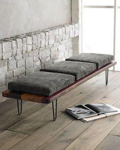 Bilderesultat for modern wooden bench diy