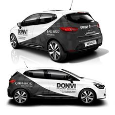 Help DONVI Property Services create an eye catching car wrap design by garrywallace