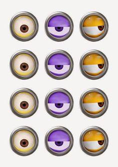 olhos-minions-para-imprimir.jpg (495×700)