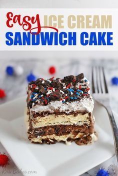 Easy Ice Cream Sandw