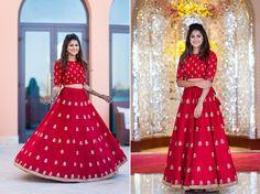 Anusha and Dhrumil, Shangri-La Barr Al Jissah Resort and Spa, Oman Bollywood Lehenga, Lehenga Choli, Orange Lehenga, Pink Gowns, Wedding Function, Lehenga Designs, Groom Outfit, Traditional Looks, Bridal Looks