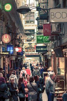 Melbourne, Australia. It's like a classier bigger NYC @Fallon Muncie Muncie Muncie