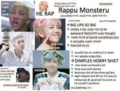funny, meme, and rap monster image