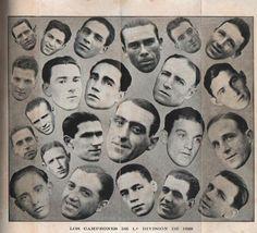 LOS CAMPEONES DE LA PRIMERA DIVISIÓN 1929, (CLUB ATLÉTICO PEÑAROL)