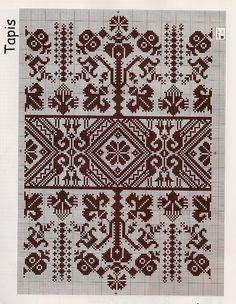(2) Gallery.ru / Фото #12 - lll - ergoxeiro Celtic Cross Stitch, Cross Stitch Borders, Cross Stitching, Cross Stitch Patterns, Embroidery Sampler, Folk Embroidery, Cross Stitch Embroidery, Embroidery Patterns, Blackwork Patterns