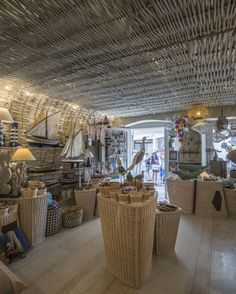 Carla LLimona Shop en Calella de Palafrugell  -  Costa Brava Summer Decoration, Straw Bag, Costa, Shopping
