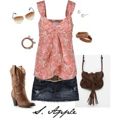 """""""Country Girl"""" by sapple324 on Polyvore"""