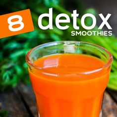 These detox smoothies will help cleanse your system, increase immunity and balance your body and mind #eatclean #recipe #clean #healthy #recipes