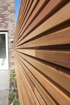 Garden design and construction, Manchester, Cheshire & Lancashire - GardenForm, Foxcroft outdoor room makers Timber Cladding, Exterior Cladding, Outside Living, Outdoor Living, Pergola, Wooden Facade, Garden Screening, Wood Architecture, Cedar Fence