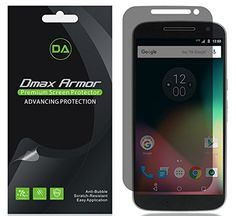 [2-Pack] Dmax Armor- Motorola Moto G4 / Moto G (4th Gen) Privacy (Anti-Spy) Screen Protector Shield - Lifetime Replacements Warranty- Retail Packaging ** Find out more about the great product at the image link.