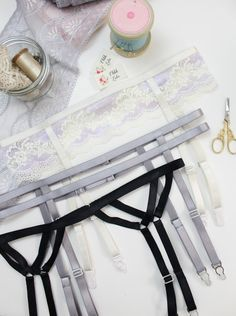 Learn how to make a variety of elastic strap garter belts with my Cora tutorial. I even have a FREE version on my blog that will teach you the basics!