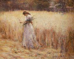 """ladypirouette: """"""""Trigal"""" by Eliseu Visconti (Brazilian Impressionist/Art Nouveau painter) """""""