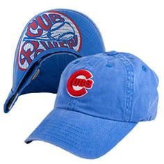 Get this Chicago Cubs New Raglin Adjustable Cap at WrigleyvilleSports.com