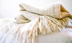 Baby Cloud - 100% handspun merino wool & handloomed by artisans in Patagonia.