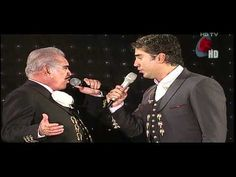 Alejandro & Vicente Fernandez - Perdon en vivo HD
