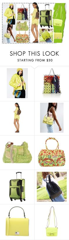 """""""Geen titel #37501"""" by lizmuller ❤ liked on Polyvore featuring Ana Accessories, Bao Bao by Issey Miyake, ASOS, Jamin Puech, Amy Butler, Samsonite, Gianni Chiarini, Reed Krakoff and Proenza Schouler"""