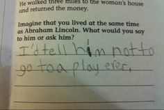 We all know kids say the darndest things, but it turns out they are even more adorable in written form.