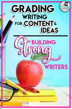 Help your students become stronger writers with this essay gracding strategy. How to grade essays as a middle school ELA or high school English teacher. Build students into strong writers by grading essays and paragraphs for content and ideas. Essay grading tips and strategies. | Middle School ELA Grading Hacks | High School English Grading Hacks | Teaching Writing | Middle School Writing | High School Writing | Gading Essays | How to Grade Essays | Teacher Tips Writing Lesson Plans, Writing Lessons, Teaching Writing, Teaching Ideas, School Essay, Middle School Writing, Argumentative Writing, Essay Writing, Writing Tips