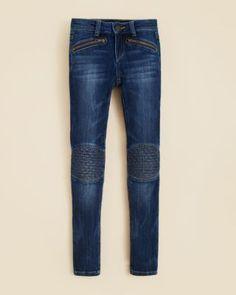 Joe's Jeans Girls' Quilted Knee Moto Jeggings - Sizes 7-14 | Bloomingdale's