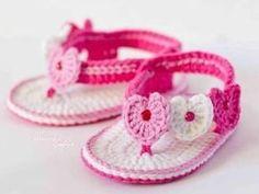 Baby Sandals pattern diy