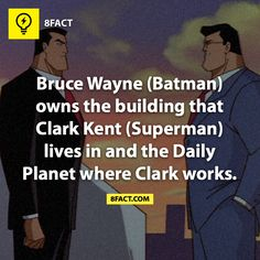 Batman-Superman facts/// y yo que siempre creí que The Daily Planet era propiedad de Lex Luthor... O no?