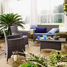 Buy John Lewis Malaga Outdoor Sofa and Coffee Table Set, Grey from our Garden Furniture Sets range at John Lewis & Partners. Conservatory Furniture, Garden Furniture, Home Furniture, Outdoor Furniture Sets, Outdoor Decor, Outdoor Sofa, John Lewis, English Country Gardens, Back Patio