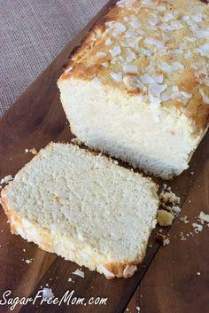 Sugar Free Low Carb Grain Free Lemon Pound Cake