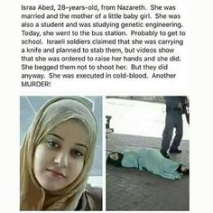 executed in cold-blood by Israeli soldiers