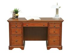 shop for winners only 57 inch topaz computer desk gt257cf and other home office cherry veneer home furniture