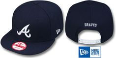 Braves REPLICA ROAD SNAPBACK Hat by New Era on hatland.com