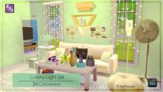 The Stories Sims Tell: Luxury Light Set • Sims 4 Downloads