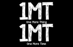 1MT 1MT - Josh Sundquist  Alway remember that