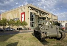 Visit New Orleans, Louisiana: National World War II Museum  Formerly the National D-Day Museum. From one day to nearly 2,000 days -- quite a mission expansion. New Orleans was the manufacturing center for D-Day landing craft by shipbuilder Andrew Higgins.