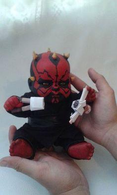 Darth Maul: The Beginning. Baby Darth Maul by Sergio Araya Arts
