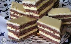 Rumos-vaníliás szelet recept fotóval
