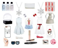 """""""Christmas wishes❄️"""" by lyvj on Polyvore featuring philosophy, Bling Jewelry, Repetto, Baylis & Harding, GUESS, Casetify, Nails Inc., By Terry, FACE Stockholm and NYX"""