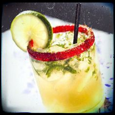Ginger Jalepeño Margarita from Urban Taco - best Dallas margaritas