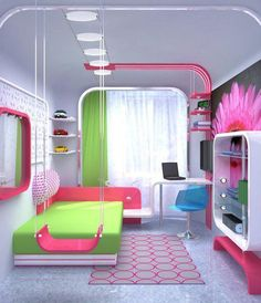 Teen Girl Bedrooms fresh ref Attractive help to create a pleasant pink teen girl bedroom dream rooms Bedroom decor suggestions posted on this creative date 20190318 . Modern Kids Bedroom, Cute Bedroom Ideas, Girl Bedroom Designs, Awesome Bedrooms, Cool Rooms, Coolest Bedrooms, Bedroom Ideas For Tweens, Childrens Bedroom, Nursery Design