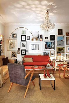 Eclectic = collected + curated