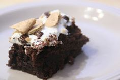 S'mores Brownies.  So yummy and so easy!