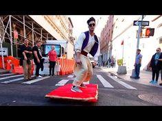 Aladdin rides 'magic carpet' through New York in Halloween prank http://amapnow.com http://my.gear.host.com http://needava.com http://renekamstra.com