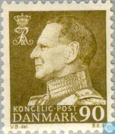 Denmark - King Frederick IX 1961