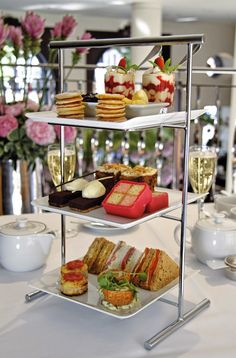 Afternoon tea at One Aldwych, London