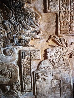 Yaxchilan lintel 15, Maya, Late Classic period (AD 600-900) From Yaxchilán, Mexico