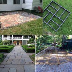 Backyard Walkway, Diy Patio, Patio Ideas, Backyard Ideas, Front Walkway, Modern Backyard, Outdoor Landscaping, Pool Ideas, Outdoor Ideas