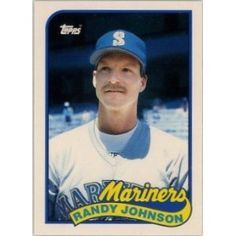 1989 Topps Traded Randy Johnson Seattle Mariners Baseball Card for sale online Baseball Cards For Sale, Best Basketball Shoes, Buster Posey, Yadier Molina, Tampa Bay Rays, Derek Jeter, Oakland Athletics, Kansas City Royals, Seattle Mariners