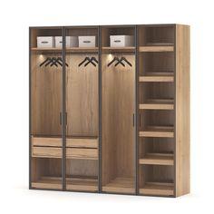 raumplus RPS system by tatyana_ Wardrobe Design Bedroom, Wardrobe Furniture, Iron Furniture, Bedroom Wardrobe, Wardrobe Closet, Home Furniture, Furniture Design, Wardrobe Door Designs, Closet Designs