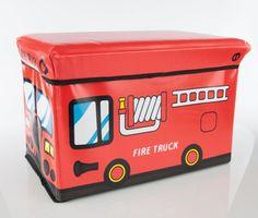 Kinder- und Spielzeugkisten | myboxes.at Fire Trucks, Products, Kids, Fire Engine, Fire Truck