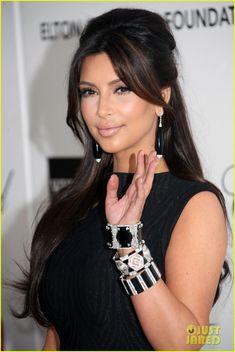 Kim Kardashian - Hair