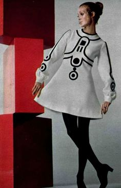 Couture Allure Vintage Fashion: 1960s Mod Era Master Designer Louis Feraud